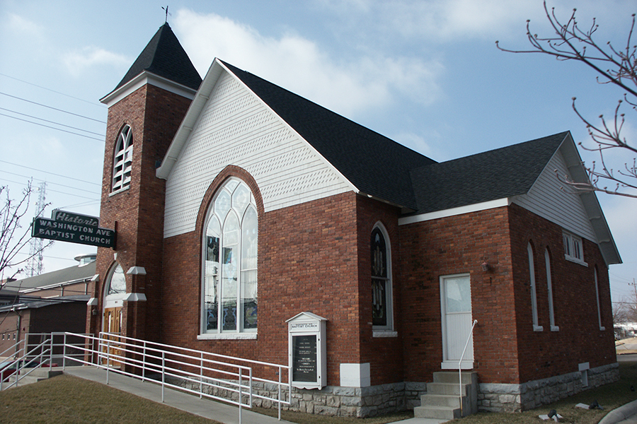 Exterior of Diversity Center.