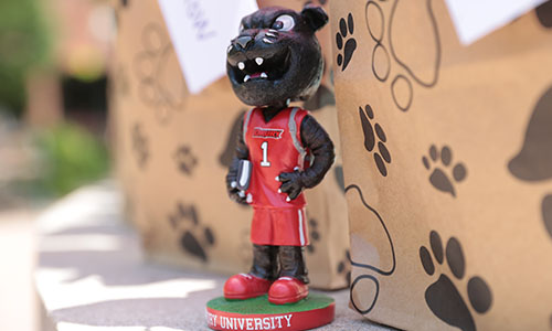 Pouncer panther bobble head.