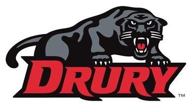 Drury panthers athletic logo.