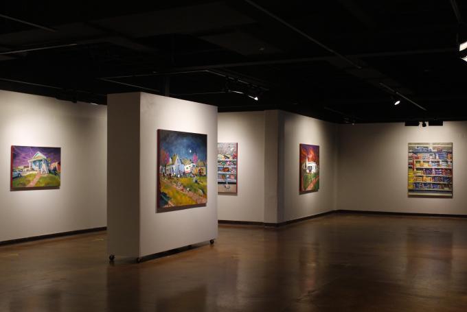 Paintings by Sari Shryack
