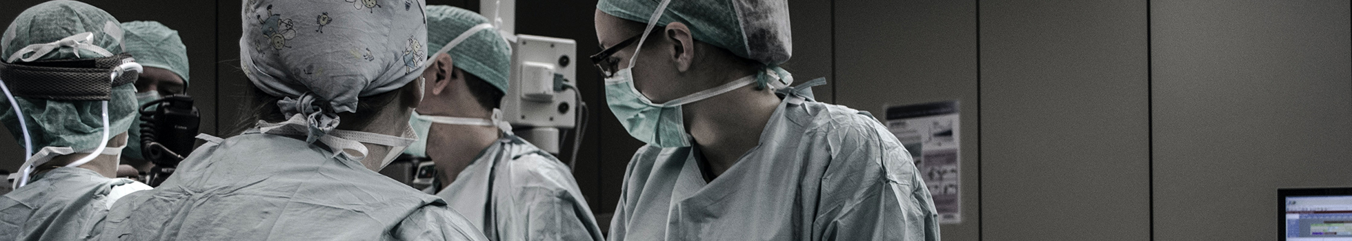 Medical team in surgery.