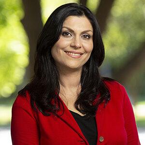 Portrait of Sarah Khorshidifard.