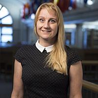 Portrait of Katlin Cundiff.