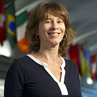 Portrait of Valerie Eastman.