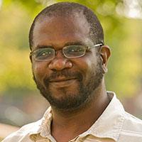 Portrait of Greg Booker.