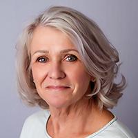 Portrait of Kay Osborne.