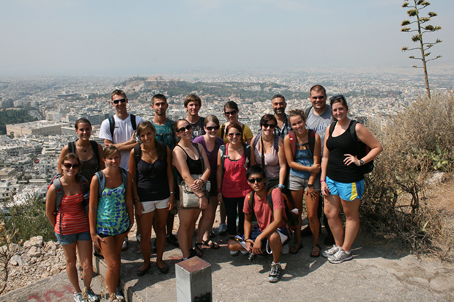 Panoramic of Athens.