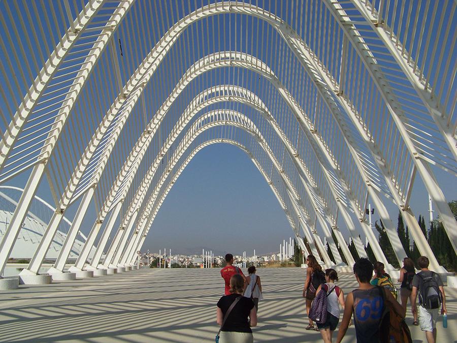 Athens Calatrava Olympic Complex.