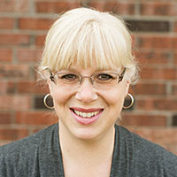 Portrait of Beth Falukos.