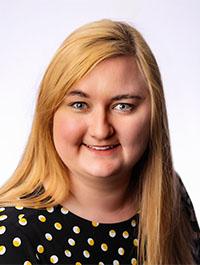 Portrait of Kristen Bureman.