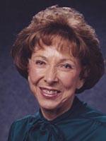 Portrait of Claudine Barrett Cox O'Connor.