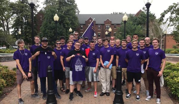 Sigma Pi Fraternity at Drury University.