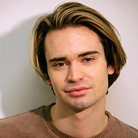 Portrait of Justin Gannaway.