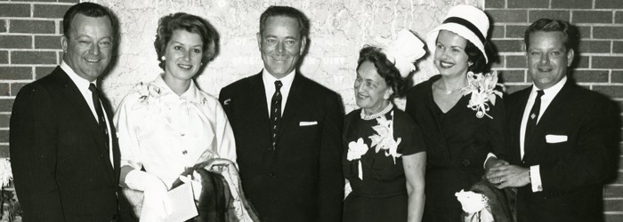 Ernest R. Breech photo with friends.