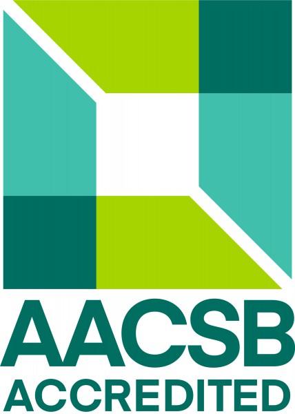 AACSB accreditation logo.