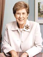 Portrait of Carol Junge Loomis.