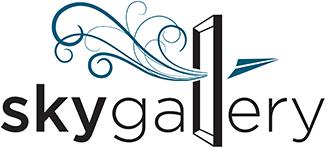 Sky Gallery logo.