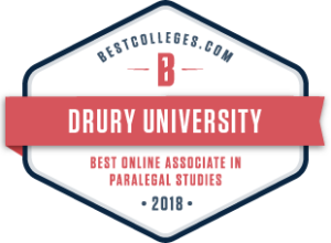 Logo for bestcollege.com best online associate in paralegal studies.