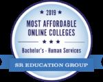 Most affordable online colleges logo.