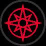 Logo for Compass Center.