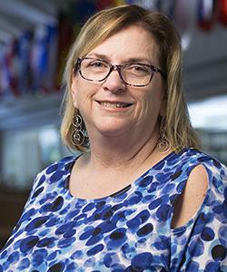 Portrait of Barbara Quas.