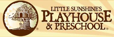 Little Sunshine Playhouse and Preschool Logo.