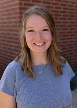 Portrait of Emily Hiebert.