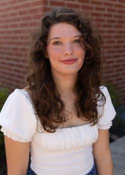 Portrait of Gracie Wood.
