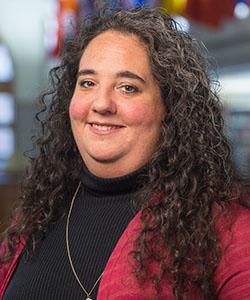 Portrait of Judi Murphy.