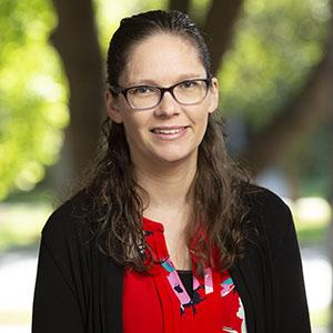 Portrait of Megan Ealy.