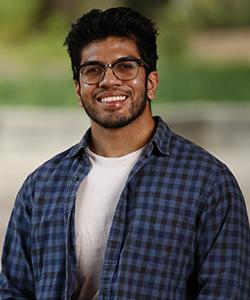 Portrait of Faizan Khan.