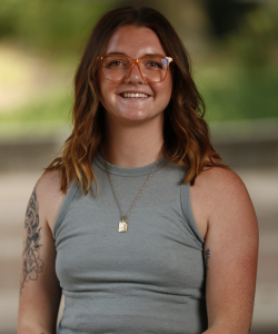 Portrait of Allison Haug.