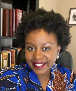 Portrait of Mati Hlatshwayo Davis.