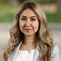 Portrait of Elnaz Parviz.