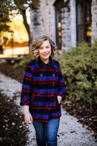 Portrait of Zoey Mueller.