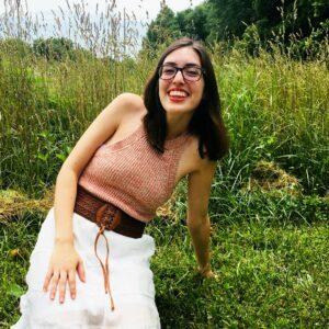 Portrait of Ashley Gilland.